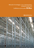 cover bi-bloc pallet racks installation manual marcegaglia brochure