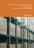 cover drive-in pallet shelving installation manual marcegaglia brochure